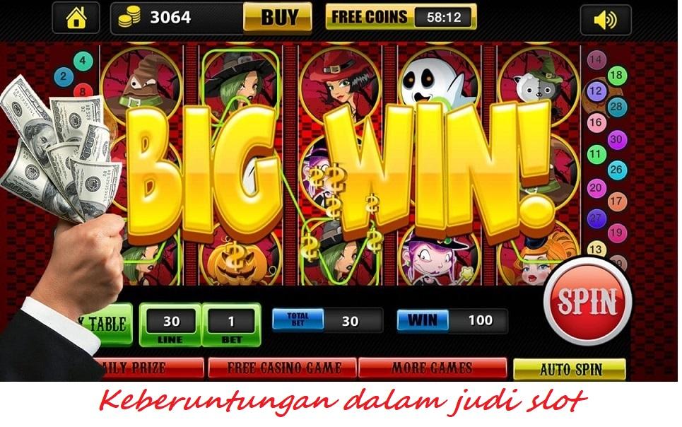Keberuntungan dalam judi slot
